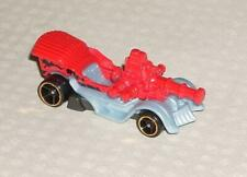 2020 Hot Wheels Car Grease Rod Red Gray Mint
