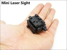 Subcompact Mini Low Profile Red Dot Laser Sight for Pistols w/ Rail Mount