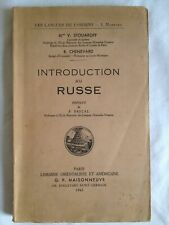 Introduction au russe | V. Stoliaroff | R. Chenevard | LANGUES DE L ORIENT