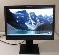 "Lenovo ThinkVision LCD Monitor L1951pwd 19"" Widescreen Active TFT 1440x900 lot 2"