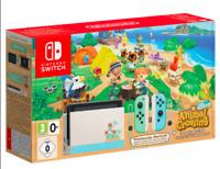 NEW - Nintendo Switch Animal Crossing New Horizon Special Edition