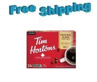 Tim Hortons Original Blend Medium Roast Coffee Keurig 24 Count K-cups