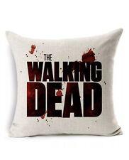 Walking Dead Cotton Linen Pillow Case Throw Cushion Pillow Cover Home Decor