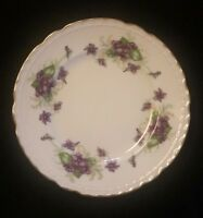 """Woodland Violets Fine China by Royal Jackson Bread and Butter Plate 6 1/8"""""""