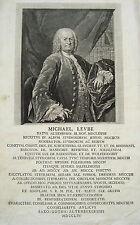 Michael Leube (1678 Altenburg -?) Sachsen  Thüringen seltener Kupferstich 1756