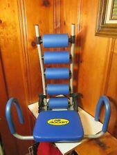 Original Ab Rocket Abdominal Trainer Core Strength Home Gym Workout System Blue