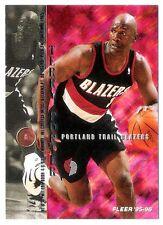 Terry Porter 1995-96 Fleer Portland Trail Blazers Insert Basketball Card