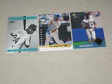 KEN GRIFFEY JR. 3 CARD LOT 1991 DREAM TEAM 1992 HOMERUN HEROES & 1992 GOLD GLOVE