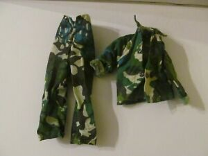 Marx Toys - All American Fighters Outfit - Shirt and Pants - Camouflage Uniform