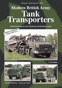 Tankograd - No.9016 - Modern British Tank Transporters - Carl Schulze - 64 Pages