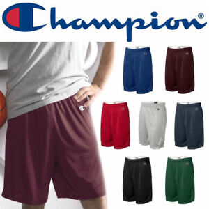 "Champion Men's 9"" Mesh Pocket Gym Short, S162 S-2XL Athletic Basketball Shorts"