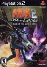 MDK 2: Armageddon (2001) Brand New Factory Sealed USA Playstation 2 PS2 Game
