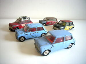 Corgi Toys: Austin & Morris Mini 1960s job lot collection, one super, made in GB
