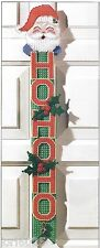 *Ho Ho Ho Door Decor Pattern*Pattern Only*Plastic Canvas Pattern*