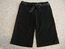 Women's juniors CHARLOTTE RUSSE black bermuda shorts, 3
