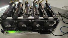 NEW 6x 3070 4 years guarantee 375 MH/s 820 W Mining Rig ETH