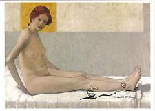 Kunstpostkarte -  Broncia Koller Pinell: Sitzende (Marietta)