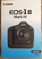 Canon EOS 1D Mark IV Manual - Printed & Professionally Bound Size A5 - NEW