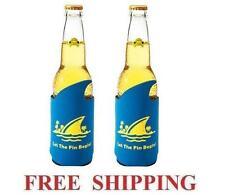 Landshark Lager 2 Beer Bottle Wrap Koozie Coolie Coozie Coolers New