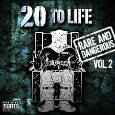VARIOUS ARTISTS - 20 TO LIFE: RARE AND DANGEROUS, VOL. 2 [PA] (NEW CD)