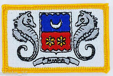PATCH ECUSSON BRODE DRAPEAU MAYOTTE INSIGNE THERMOCOLLANT NEUF FLAG PATCHE