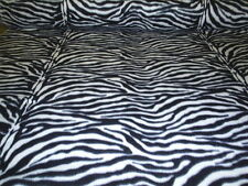 60 Inch Width Zebra Print Polar Fleece, Material,Fabric,Soft /Washable +