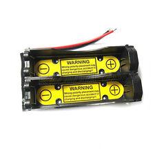 1 x 2S1P 7.4V 18650  Holder Case Battery w/ Li-ion PCM Protection Circuit Module