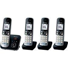Panasonic Quadro set kx-tg6824gb negro DECT-teléfono inalámbrico contestador automático