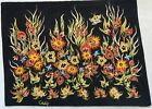 Antique rug/carpet/textile/tapestry European French needlepoint 1970