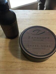 Zaharoff Signature Shave Set Soap And Splash