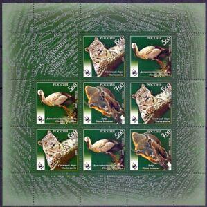 Russia 2007 Fauna. WWF. Mini sheet. MNH