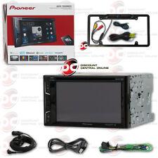 PIONEER AVH-1500NEX 2DIN 6.2 DVD CD BLUETOOTH STEREO BLACK FULL LICENSE CAMERA