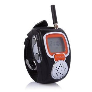 2pcs, LCD Wrist Watch Walkie talkie,interphone,two way radio,Portable Outdoor