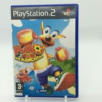 Kao the Kangaroo Round 2 Video Game for PlayStation 2 PS2 PAL With Manual