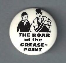 """Anthony Newley """"ROAR OF GREASEPAINT"""" Cyril Ritchard 1965 Broadway Pinback"""