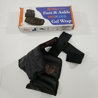 Treat My Feet Foot & Ankle Pain Relief Hot/Cold Gel Wrap Full Boot Wrap OPEN BOX