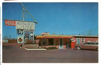 Vintage Postcard Knotty Pines Motel Winslow Arizona AAA K2