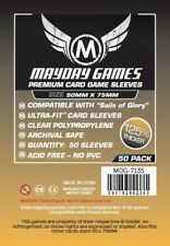 Mayday Sails of Glory Premium Card Board Game Sleeves 50mm x 75mm 50ct MDG-7135