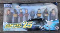 New Star Trek 25 TNG Collectors Series Limited Edition PEZ Dispenser Set A6