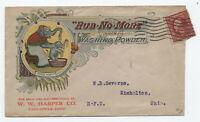 1911 Rub No More Washingotn Power color ad cover elphant Zanesville OH [y4342]