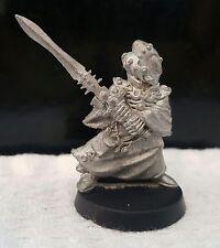 Warhammer40k Eldar Warlock  Metal, Oop unpainted joblot army