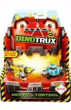 Dinotrux Diecast, Revvit & Tortool 2-pack