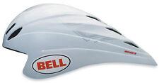 BELL METEOR II TIME TRIAL AERO RACING BIKE ADULTS HELMET 55-59cm WHITE 50% OFF!