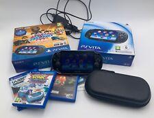Lot PS Vita Sony + 13 jeux + accesoires