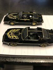 SMOKEY and the BANDIT 1 & 2 PONTIAC TRANS AM  Greenlight Loose New
