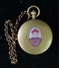 Fine Running Old Switzerland Bronze Mechanical Wind Up Pocket Watch