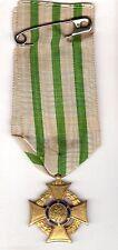 Original WWI Imperial German Saxon War Merit Medic Cross w Wreat 1914-1918 Medal