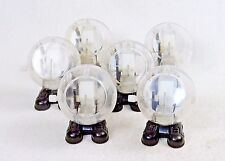 Lot of 6 Transparent Wind Up Walking Toys ~ Mechanical Fun For All Ages ~ #WG100