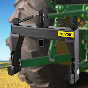 VEVOR Tractor Quick Hitch 3-Point Quick Hitch Fit for Category 1 & 2 Tractors
