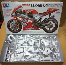 14100 YAMAHA YZR-M1 '04 NO.7/NO.33 TAMIYA 1/12 scale plastic model kit